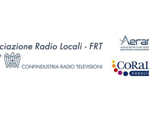 Convenzione SCF Associazione Radio Locali FRT + Aeranti-Corallo