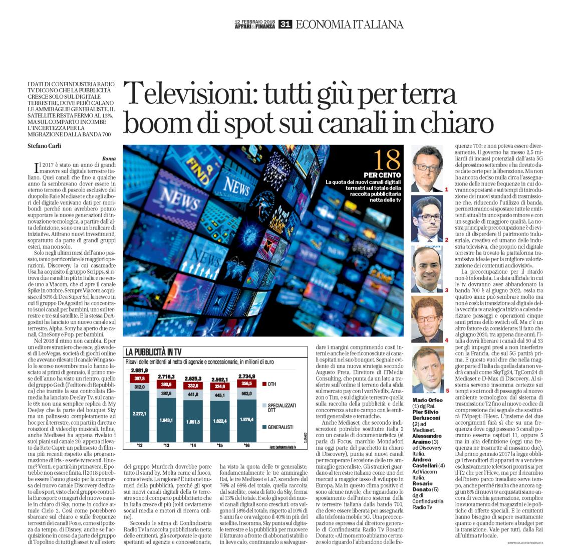 icolo Repubblica 2018 Carli
