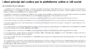 disinformazione online