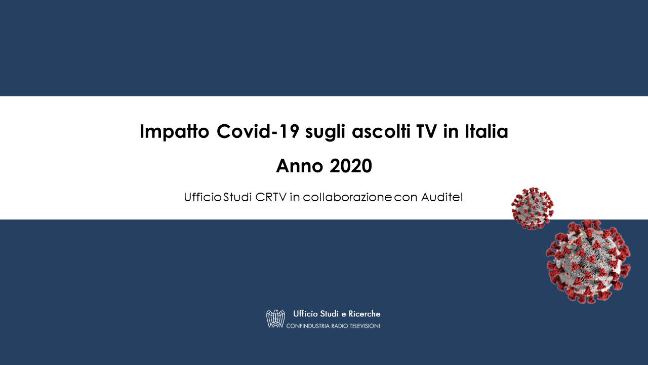 Ascolti TV 2020 Covid-19