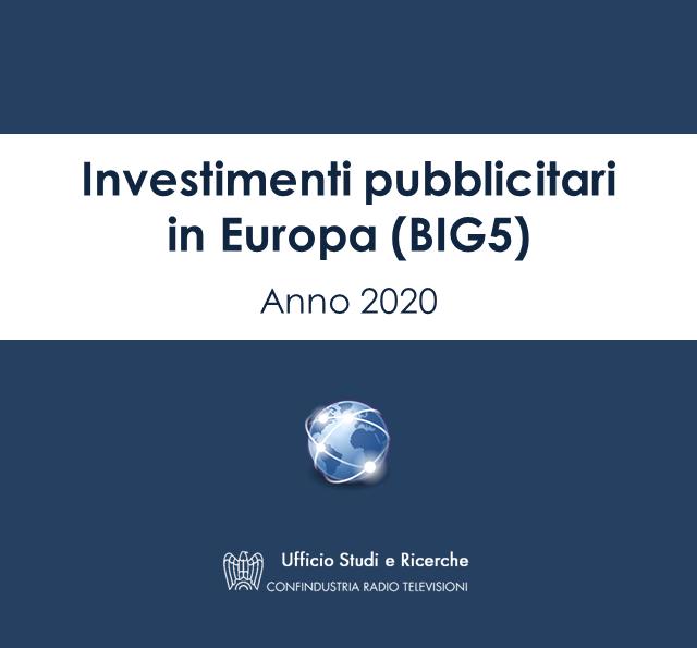 Pubblicità Europa Big-5 2020
